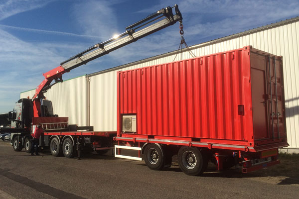 Nos moyens containerama transformation de conteneur for Agencement container