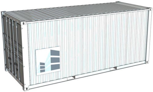 container 20 pieds