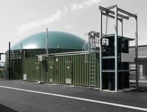 transformation container industriel biogaz